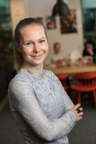 Johanna Pystynen, henkilöstöjohtaja, Vincit